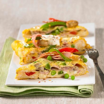 Gemüse-Omelett Rezept