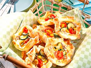 Gemüse-Pastetchen Rezept