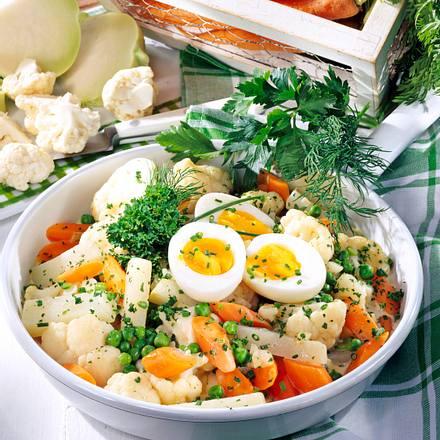 Gemüse-Pfanne Gärtnerinnen Art Rezept