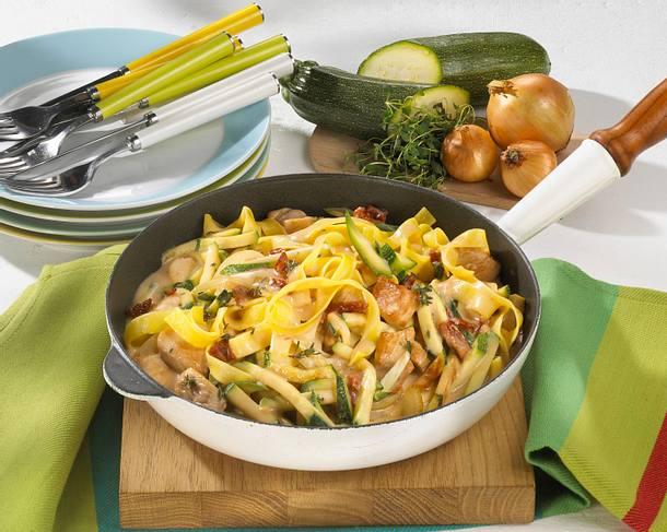 Gemüse-Putenpfanne Rezept