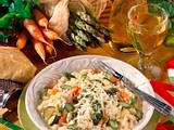 Gemüse-Risotto mit Parmesan Rezept