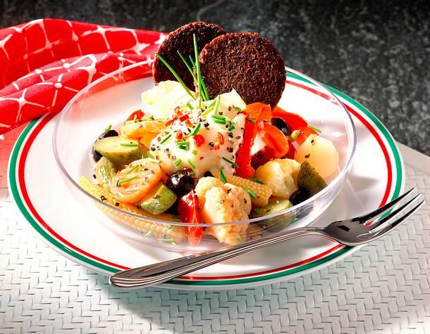Gemüse-Teller Rezept