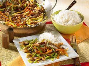 Gemüse-Wok Rezept