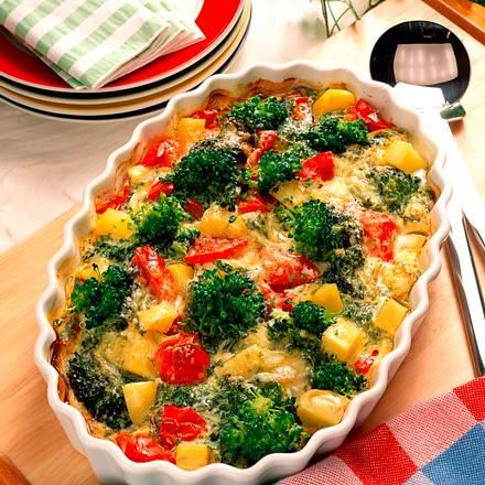 Gemüseauflauf Rezept