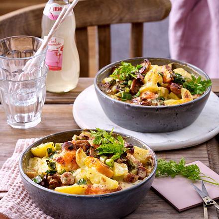 Gemüseauflauf mit Kerbel-Béchamel Rezept