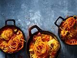 Gemüseauflauf mit Süßkartoffel-Spiralpommes Rezept