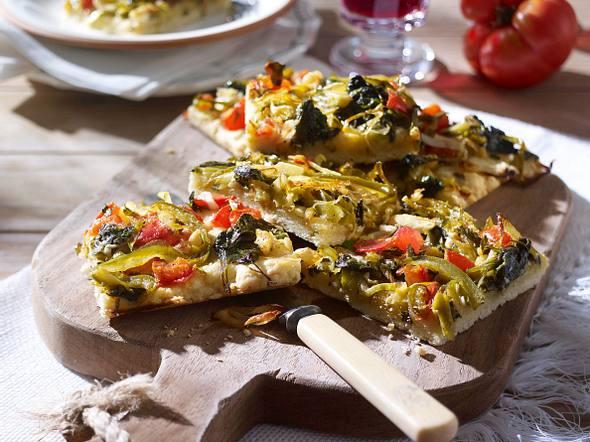 Gemüsekuchen (Mallorca) Rezept