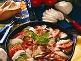 Gemüsepfännchen mit Mozzarella Rezept