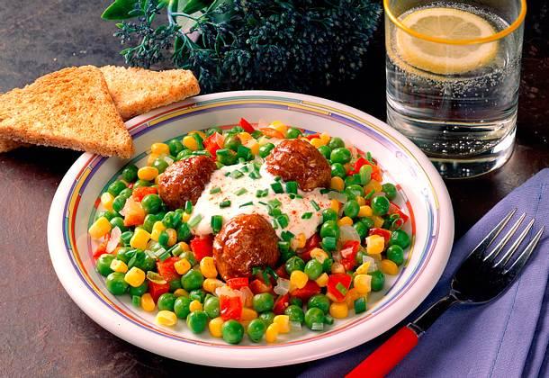 Gemüsepfanne (Diät) Rezept