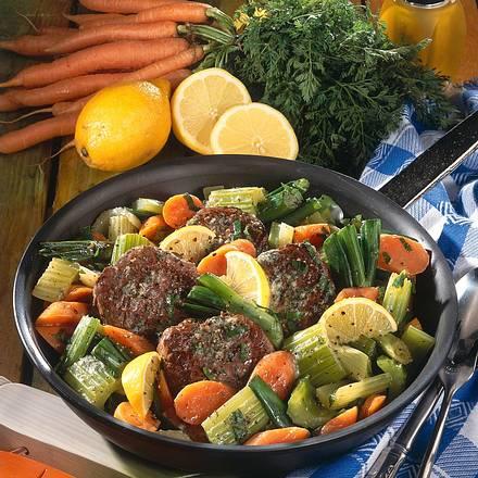 Gemüsepfanne mit Rinderfilet Rezept