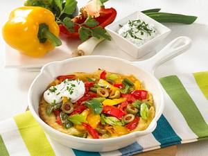 Gemüsepfannkuchen Rezept