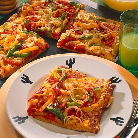 Gemüsepizza Rezept