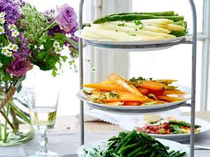 Gemüseplatte Rezept