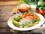 Gemüseplatte mit Quarksoße Rezept