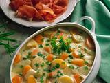 Gemüseragout mit Parmaschinken Rezept
