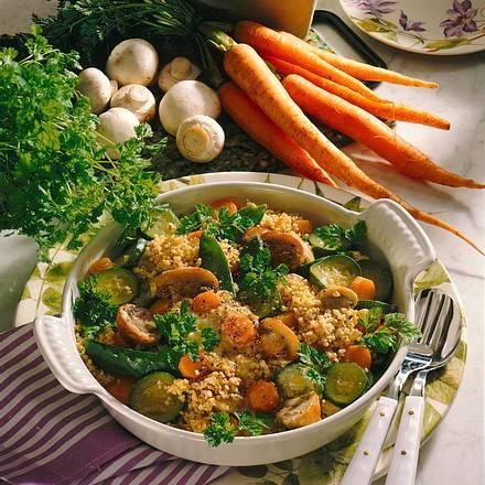 Gemüserisotto mit Hirse Rezept
