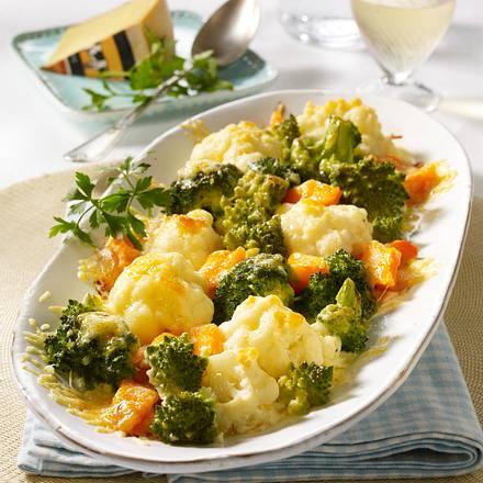 Gemüseröschen-Gratin Rezept