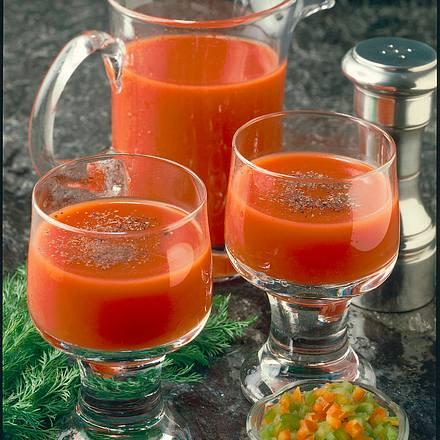 Gemüsesaft mit Paprika Rezept