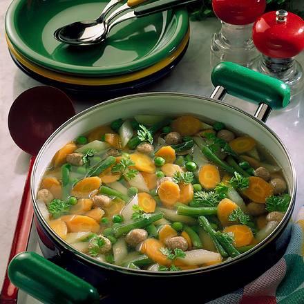 Gemüsesommersuppe Rezept