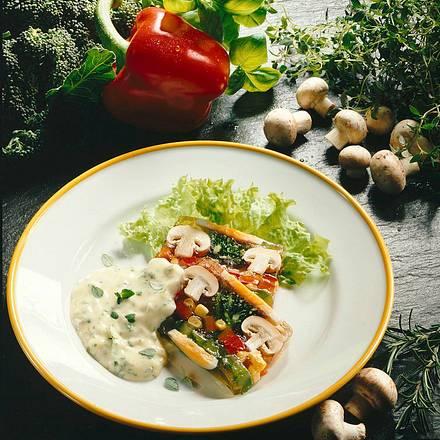 Gemüsesülze mit provenzalischer Kräutermayonnaise Rezept