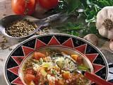 Gemüsesuppe mit Grünkern Rezept