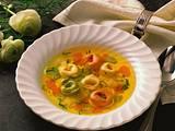 Gemüsesuppe mit Tortellini Rezept
