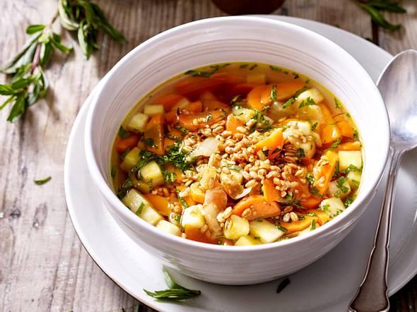 Getreidesuppe mit Gemüse Rezept