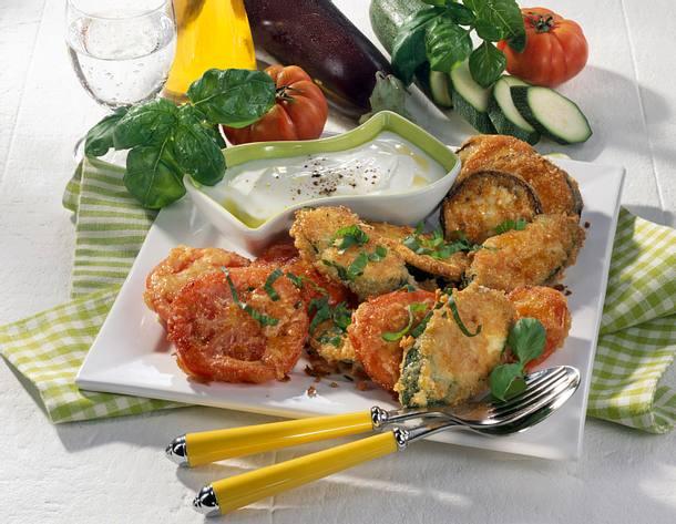 Gemüsetaler mit Käsehülle Rezept