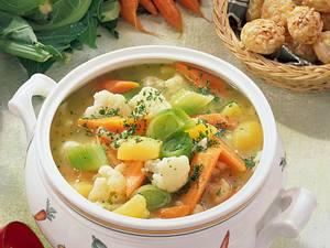 Gemüsetopf mit Gouda-Talern Rezept