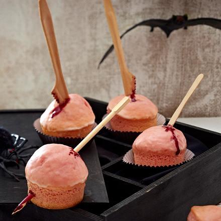 Gepfählte Horror-Muffins Rezept