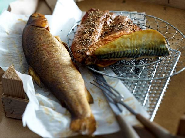 Geräucherte Forelle und Makrele Rezept
