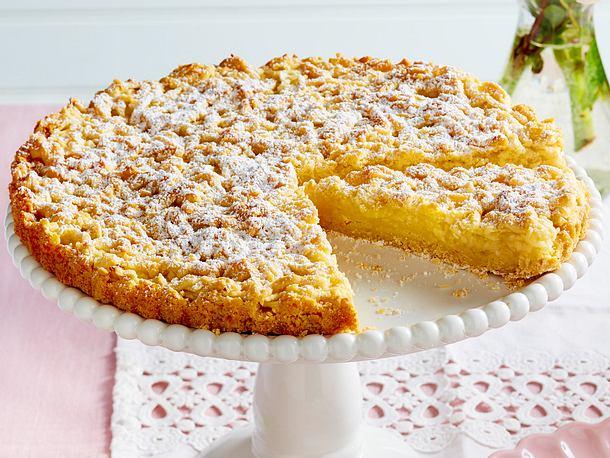 Geriebener Apfelkuchen Rezept