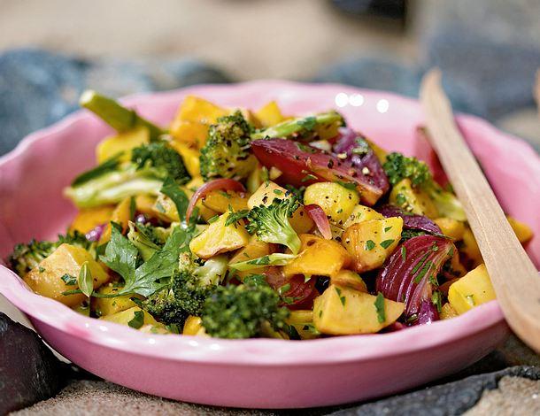 Gerösteter Gemüsesalat Rezept