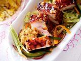 Gerösteter Schweinebauch mit Gemüsesalat Rezept