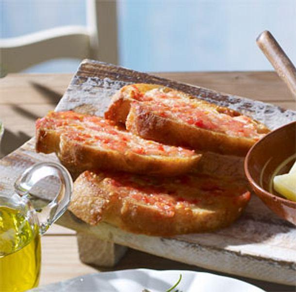 Geröstetes Tomatenbrot Rezept