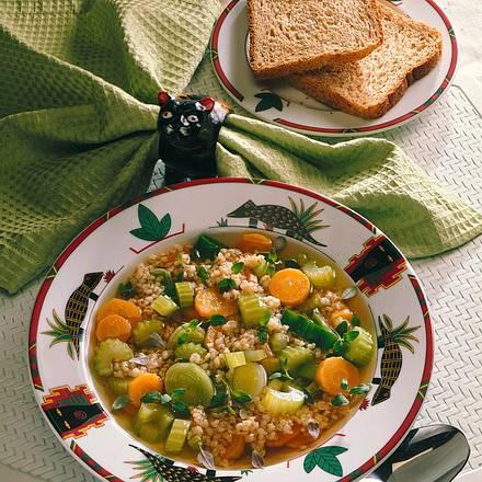 Gerstensuppe mit Gemüse Rezept