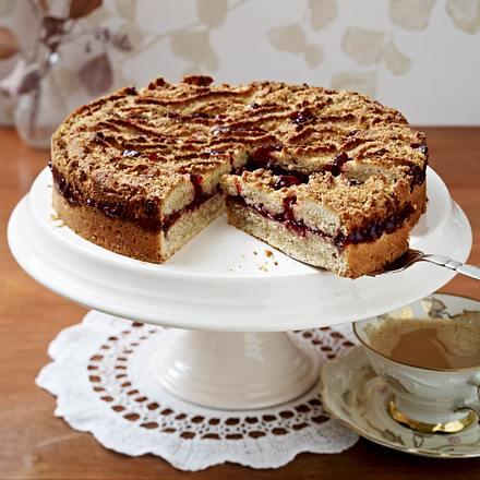 Gerührte Linzer Torte Rezept