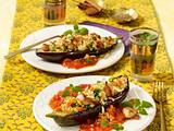 Geschmorte Auberginen mit Couscous Rezept
