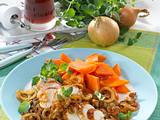 Geschmorte Balsamico-Zwiebeln zu Hähnchen Rezept