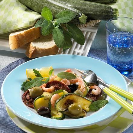 Geschmortes Zucchini-Gemüse Rezept