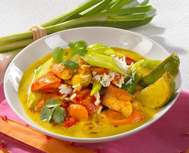 Geschnetzeltes in Curry-Rahmsoße Rezept