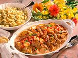 Geschnetzeltes mit Pilzen und Zwiebeln Rezept