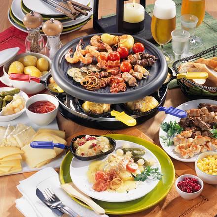Geselliges Raclette-Essen Rezept