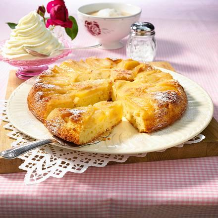 Gestürzter Apfelkuchen Rezept