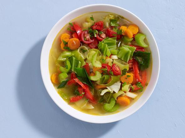Gesunde Gemüsesuppe Rezept