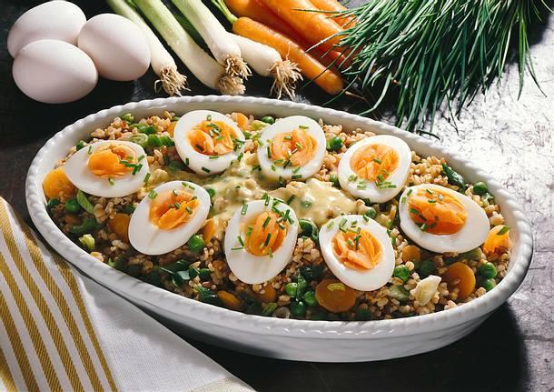 Getreide-Gemüse-Curry Rezept