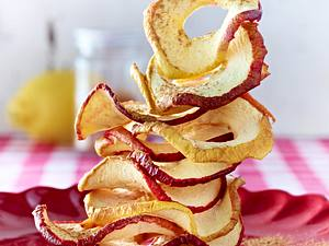 Getrocknete Apfelchips Rezept