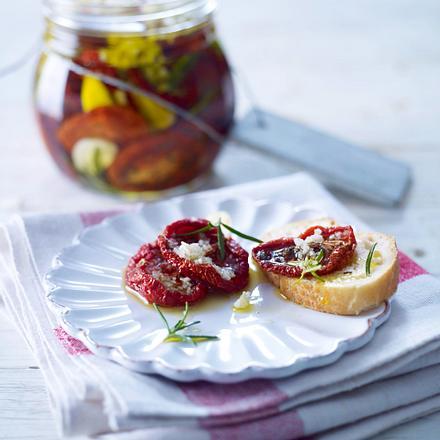 Getrocknete Tomaten in Olivenöl Rezept