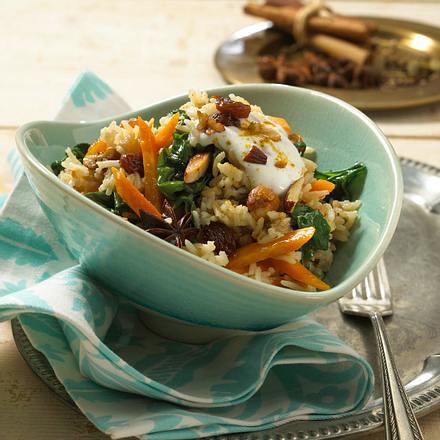 Gewürz-Gemüse-Reis Rezept