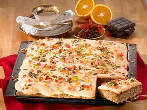 Gewürzkuchen mit Mandarinencreme Rezept